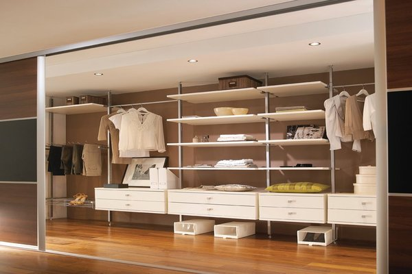 Clever wardrobe storage for your home